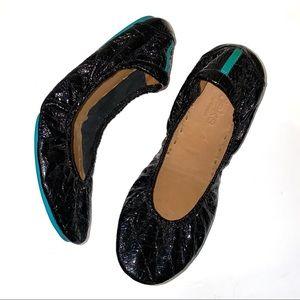 Like new! Tieks Obsidian Black size 8